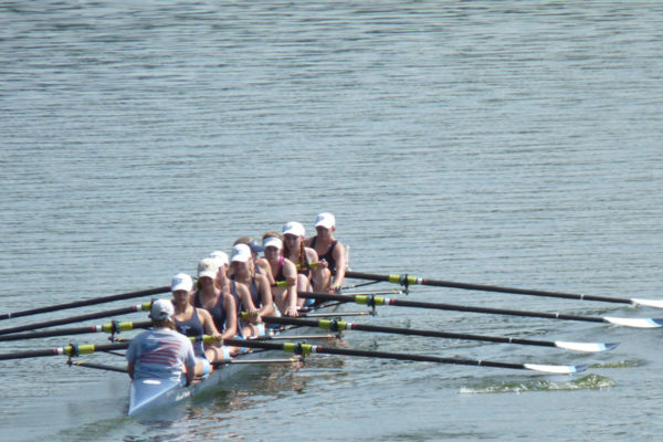 San Diego Crew Classic, women, rowers, side